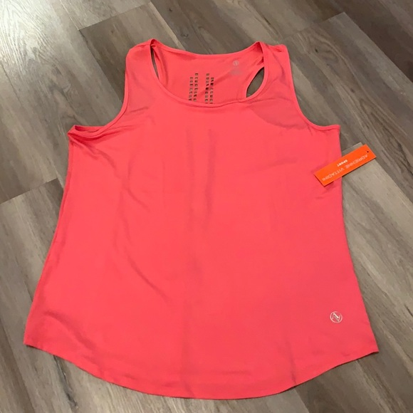 New Adrienne Vittadini pink exercise tank top 1X